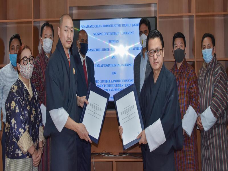 Image 2-Punatsangchhu I Hydroelectric Power Project