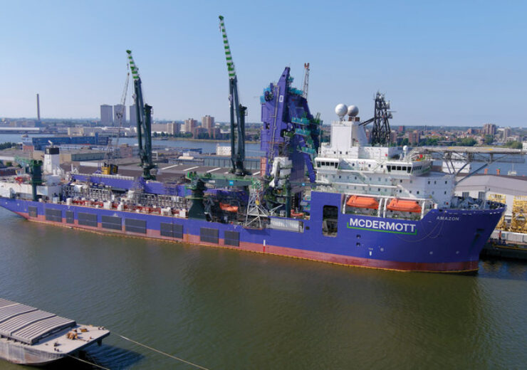 McDermott's Amazon tapped for Deepwater Development in Gulf of Mexico